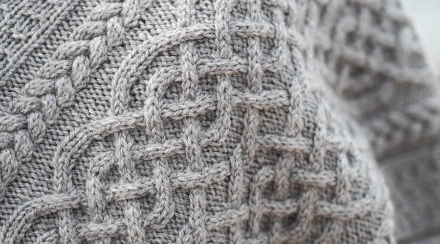 Close-up of Portree Poncho