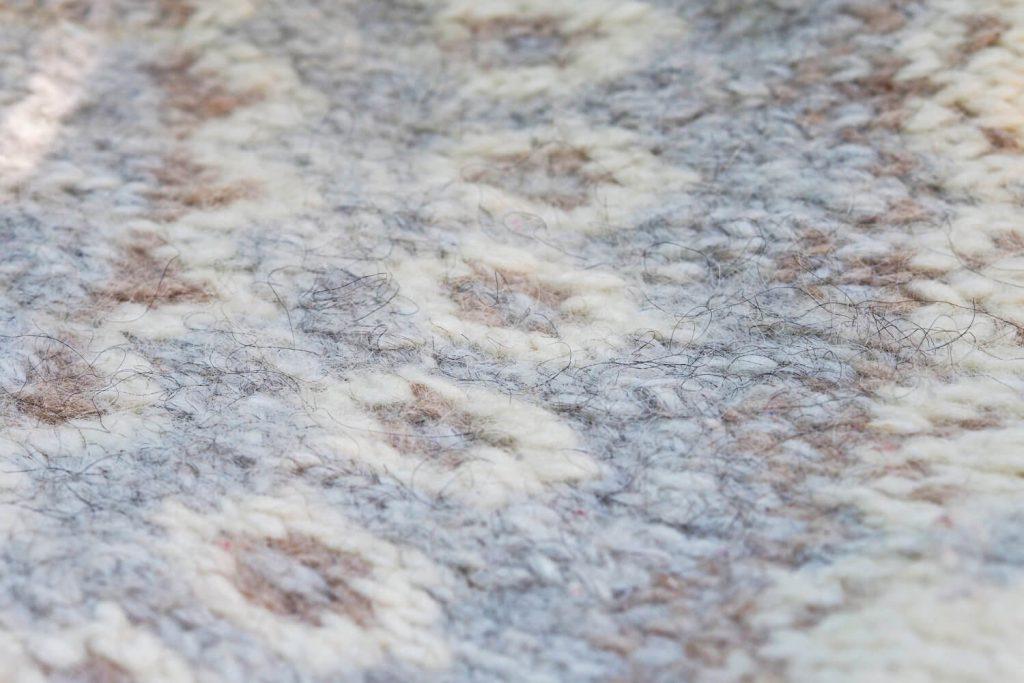 Lopi wool detail
