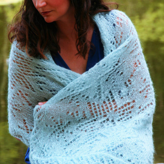 Ice Princess Shawl
