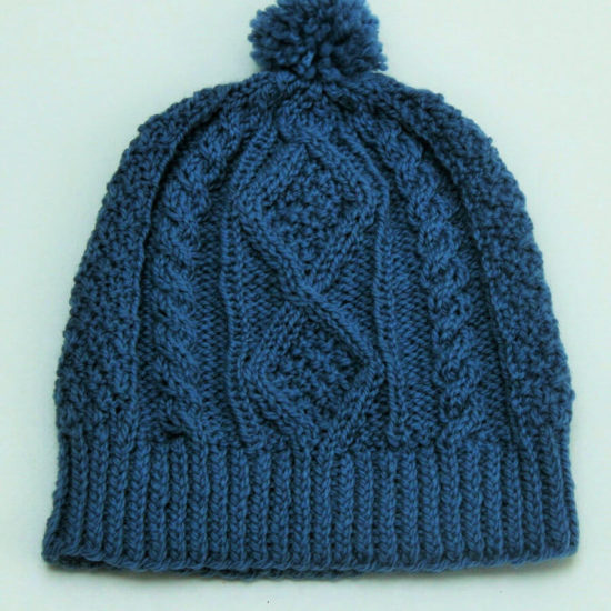 Inis Beag Hat in blue