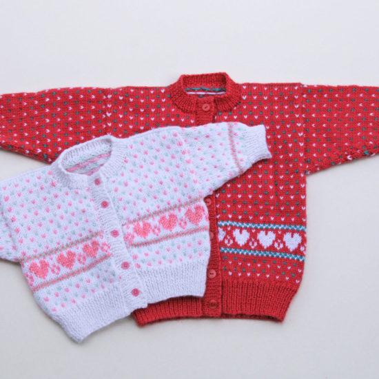 Sweethearts Baby Fair Isle sweaters