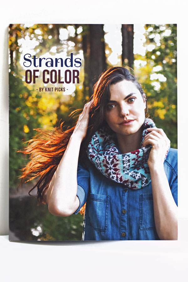 Image of Knit Picks Strands of Color print book
